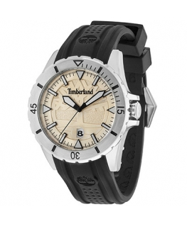 Timberland Boylston 3h beige dial black silicon st