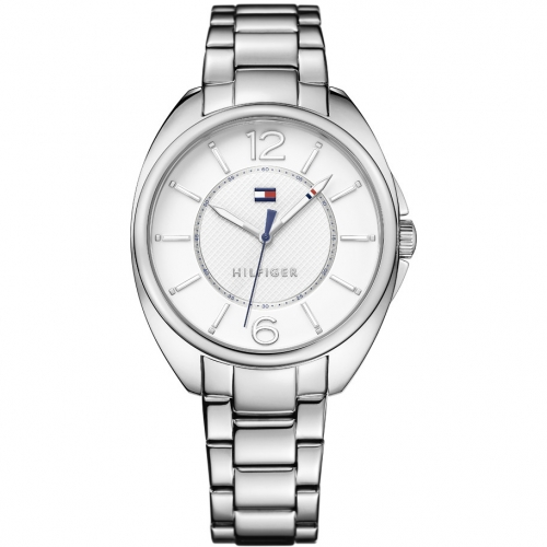 Tommy Hilfiger Charlee 38mm 3h white dial br ss