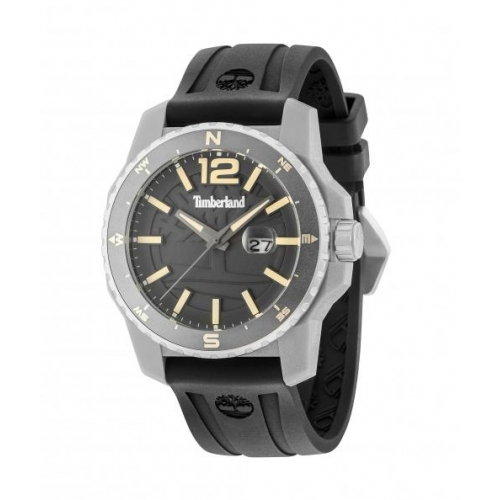 Timberland Westmore 3h gun dial black silicon st