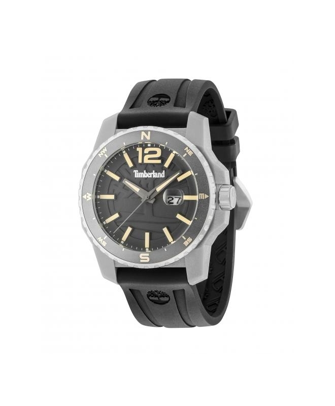 Timberland Westmore 3h gun dial black silicon st - galleria 1