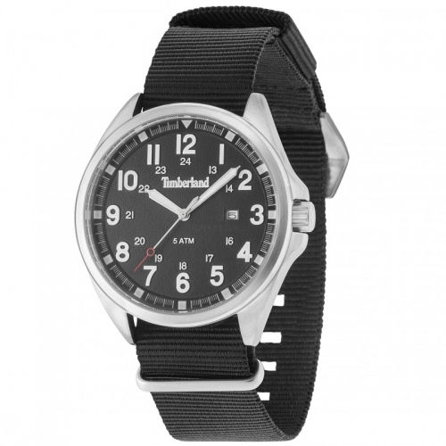 Timberland Raynham 3h black dial brown str