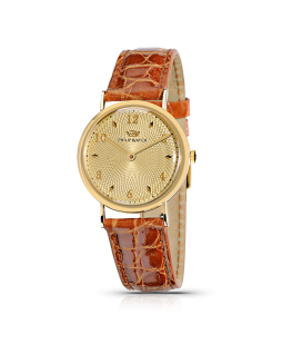 Philip Watch C capsulette 2h 30mm gold/wh/brown st .