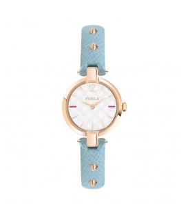 Furla Linda 24mm 2h w/silver dial azzurro st