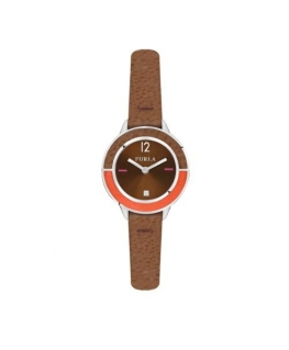 Furla Club 26mm 2h brown dial brown strap
