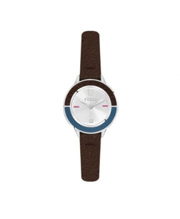 Furla Club 26mm 2h w/silver dial brown strap