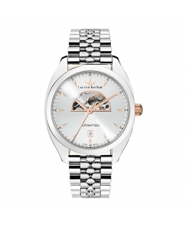 Lucien Rochat Lunel 41mm auto 3h silver dial br ss