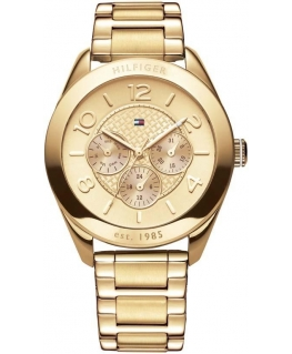 Tommy Hilfiger Gracie 40mm multi. champ dial i g pl br