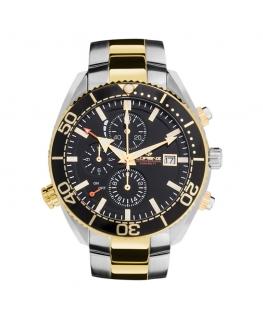 Orologio Lorenz Dive 300 MT uomo oro / nero uomo 30046DD