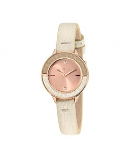 Furla Club 26mm 2h rg dial white strap