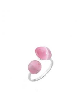 Morellato Gemma an. cat eye rose size 012 arg.925