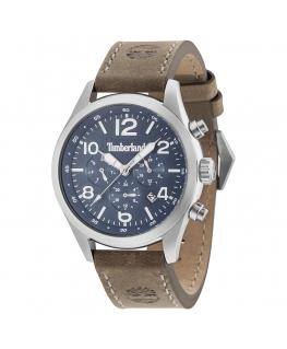 Timberland Ashmont 6h dark blue dial tan strap