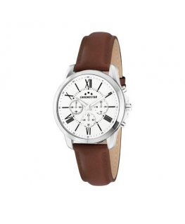 Chronostar Sporty 44mm multi beige dial brown st