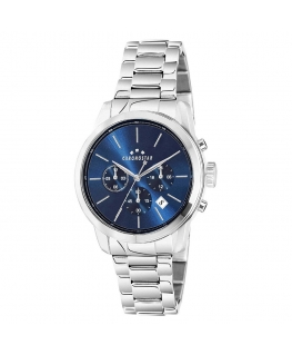 Chronostar Urano 43mm multi blue dial br ss
