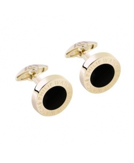 Philip Watch Philip watch j cufflinks pvd gold+ip blk