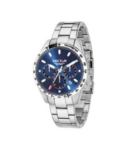 Sector 245 41mm chr blue dial ss br