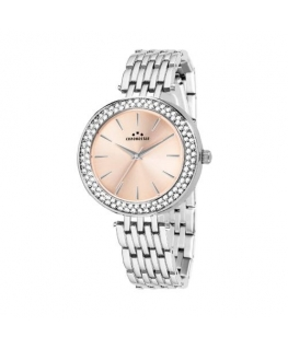 Chronostar Majesty 38mm 3h rose dial ss br