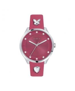 Furla Pin 38mm 3h pink dial pink st