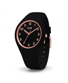 Ice-watch Ice glam-blackrose-gold-numbers-small-3h