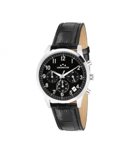 Chronostar Romeow 40mm multi black dial black st