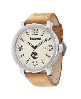 Timberland Pinkerton 3h beige dial beige leather st