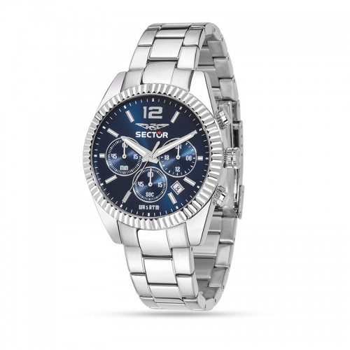 Sector 240 chrono 41mm blue dial br ss