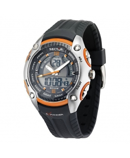 Sector Street digital ad0943 grey/orange blk st