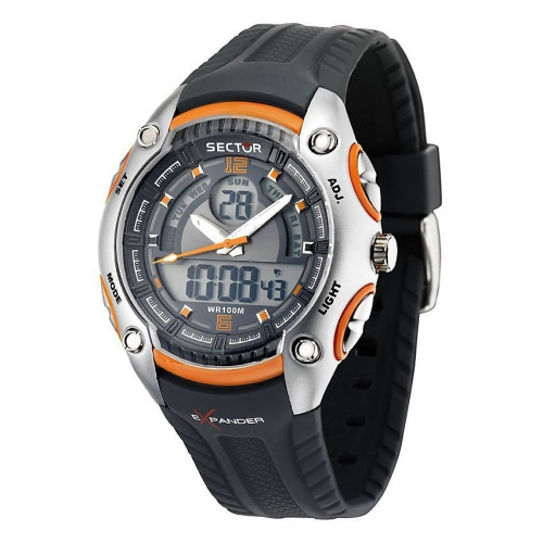 Sector Street digital ad0943 grey/orange blk st uomo R3251574004