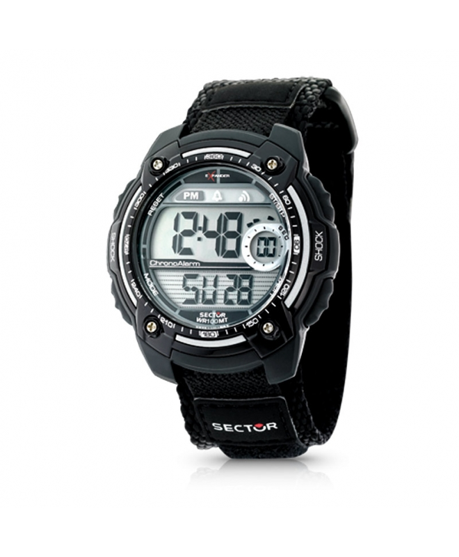 Sector Street digital black strap - galleria 1