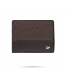 Philip Watch Philip watch lg wallet fabric brown leat