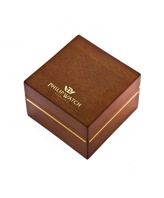 Philip Watch Caribe ext 3h black dial /bracelet donna - galleria 3