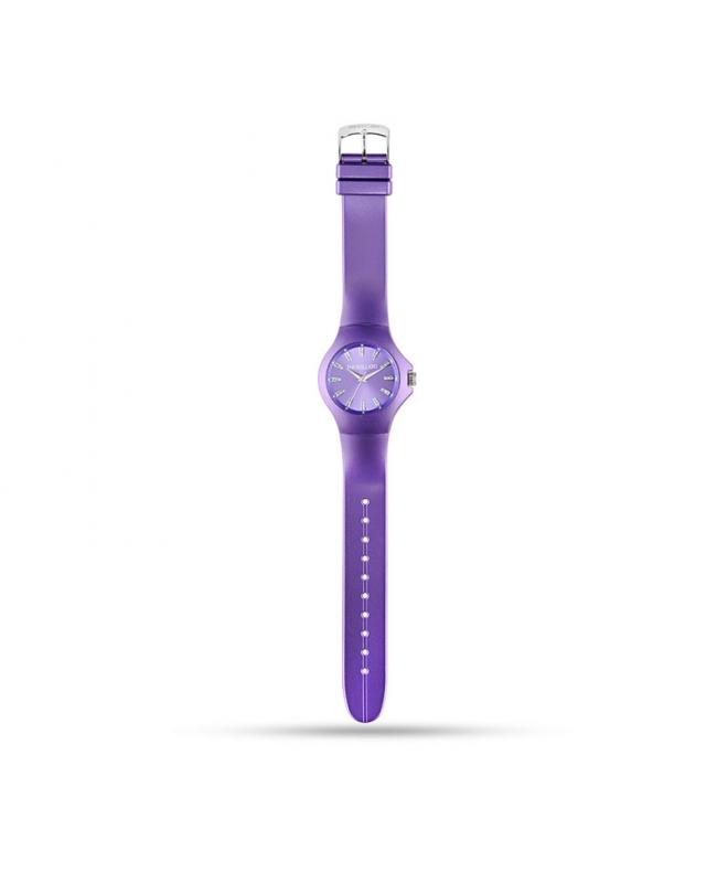 Morellato Colours 3h violet dial metaliz str pu unisex - galleria 1