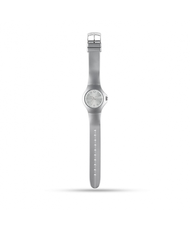 Morellato Colours 3h silver dial metaliz str pu unisex - galleria 1