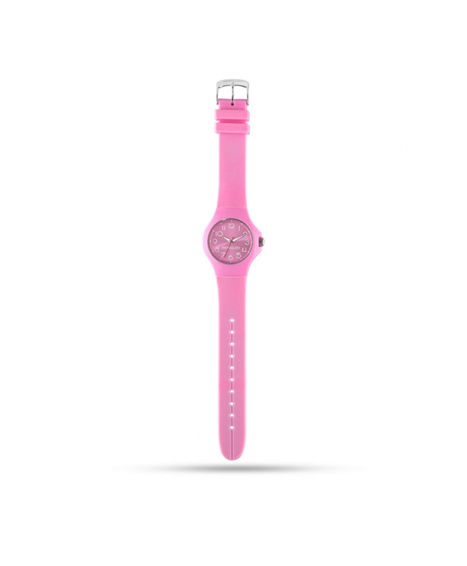 Morellato Colours 3h 36mm pink dial pink strap pu unisex - galleria 1