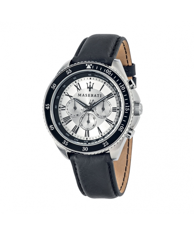 Orologio Maserati Stile uomo pelle / bianco uomo R8851101007 - galleria 1