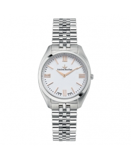 Lucien Rochat Lunel 32mm 2h white dial ss br