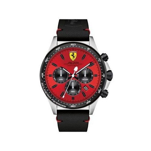 Ferrari Pilota-m-ssipblk-rou-red-s-leblk