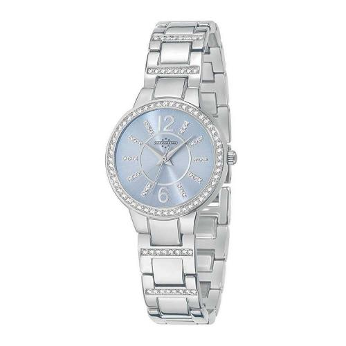 Chronostar Desiderio 3h 30mm l.blue dial br ss