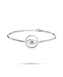 Sector Gioielli Emotions br evil eye ss sapphire crystal