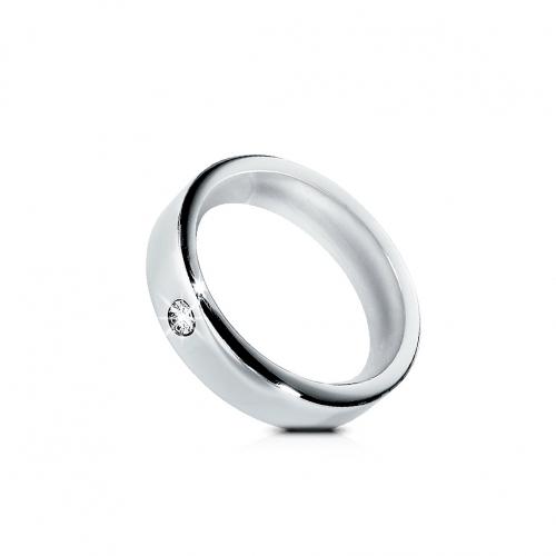 Morellato Cult an.lucido+sabbiato c/diamante 021 donna S8515021