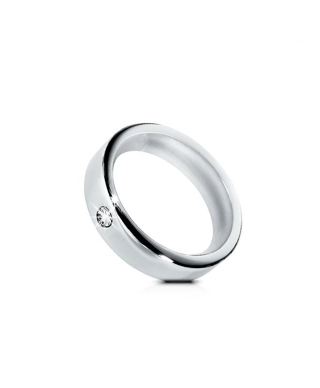 Morellato Cult an.lucido+sabbiato c/diamante 025 donna S8515025 - galleria 1