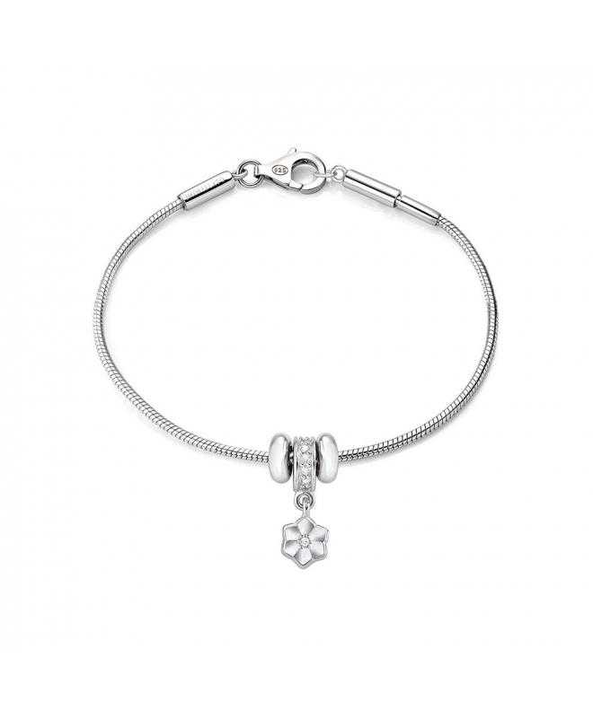 Bracciale Morellato Solomia donna argento fiore donna SAFZ124 - galleria 1