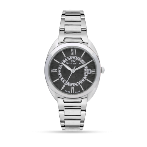 Orologio Philip Watch Lady diamanti nero R8253493506