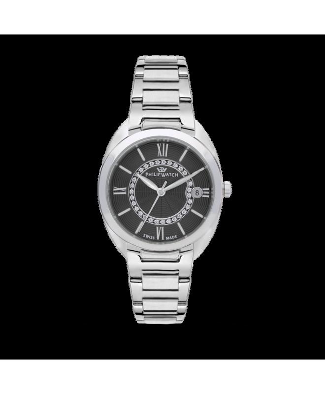 Orologio Philip Watch Lady diamanti nero R8253493506 - galleria 1