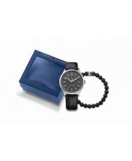 Tommy Hilfiger Thess-m-ss-rou-gre-s-leblk-bracelet