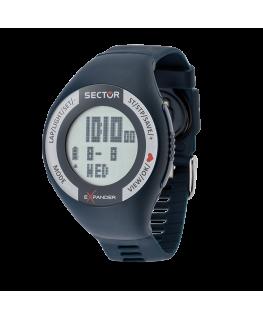 Orologio Sector digitale Cardio blu - 46 mm