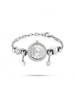 Morellato Drops time 26mm 2h silver dial ss br