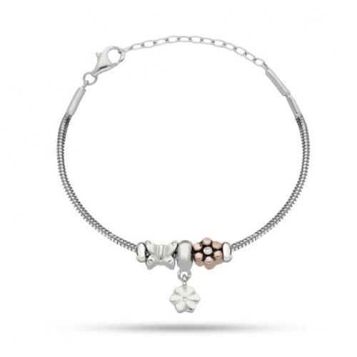 Morellato Solomia argento 925 br. 3 beads donna SAFZ162