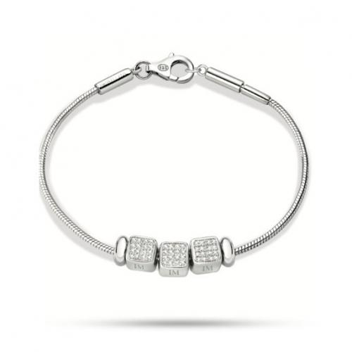Bracciale Morellato Solomia argento 925 br. 3 beads donna SAFZ88