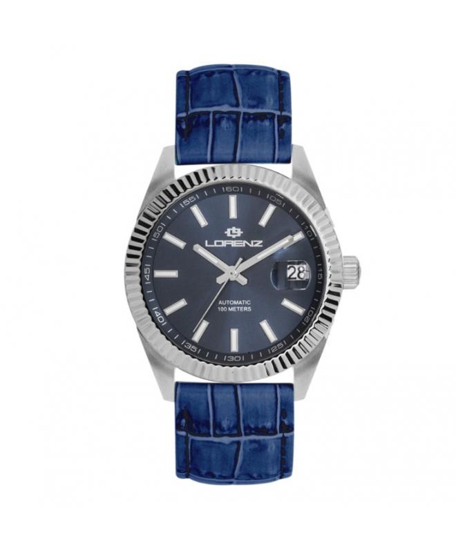 Orologio Lorenz Automatic Ginevra pelle blu / blu - galleria 1