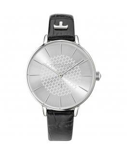 Orologio Trussardi T-fun donna pelle nero / silver